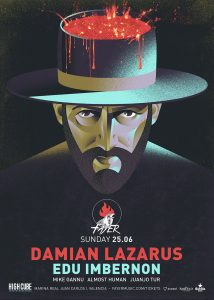 Damian Lazarus next guest artist for Fayer next sunday 25th of june 2017 Valencia