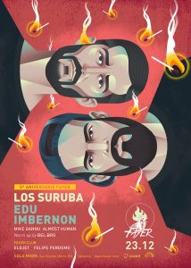 Los Suruba on Fayer next friday 23 december 2016
