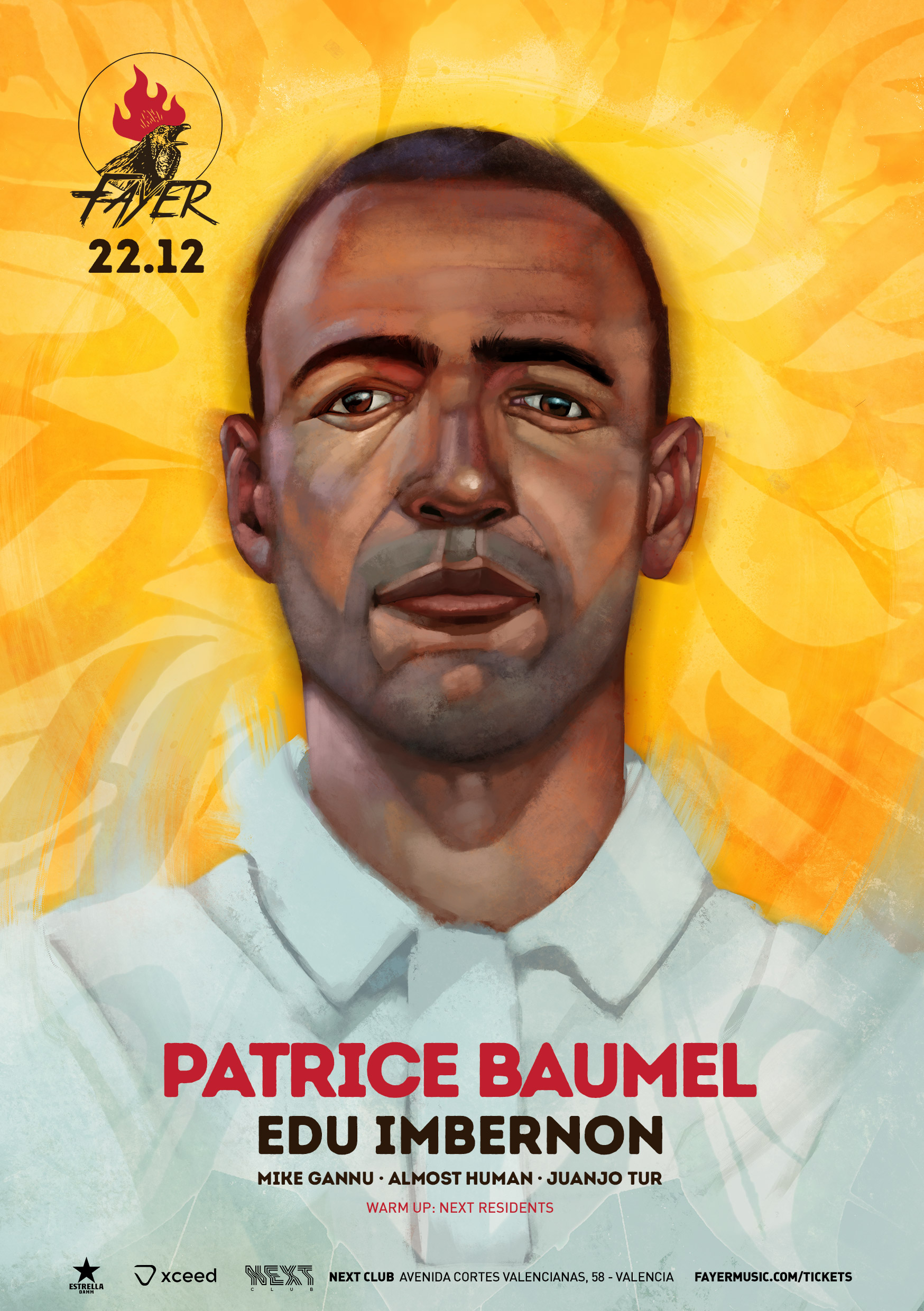 Patrice Baumel on Fayer saturday 22 december 2018