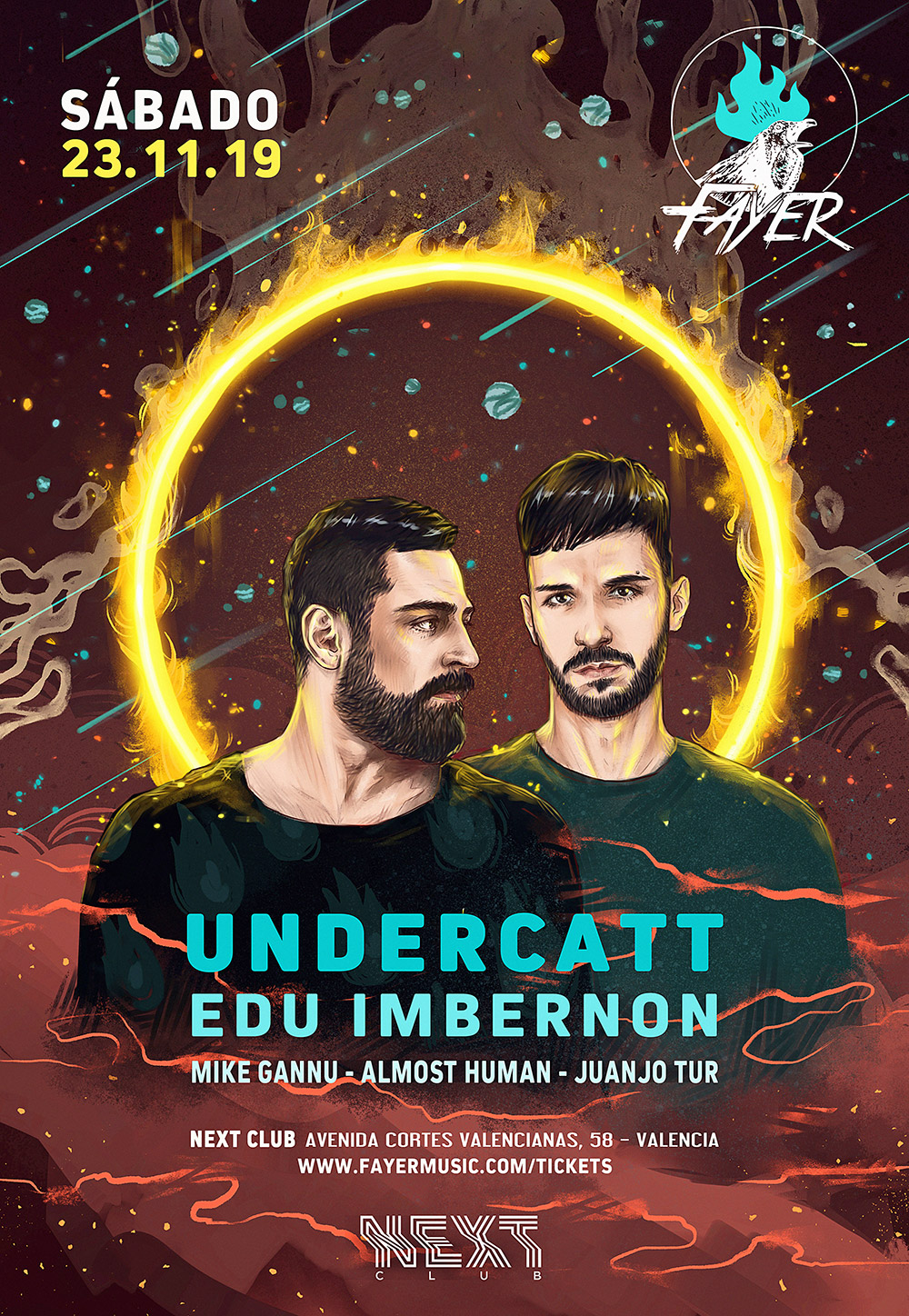 Undercatt on Fayer November 2019