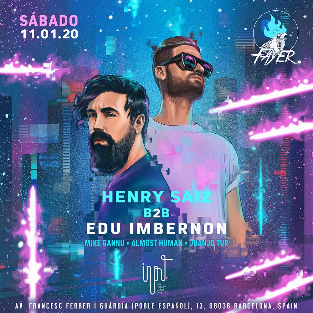 Henry Saiz b2b Edu Imbernon Fayer Input Barcelona