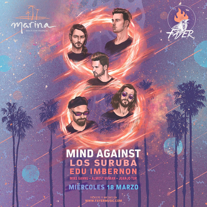 Mind Against Los Suruba Fayer march 2020